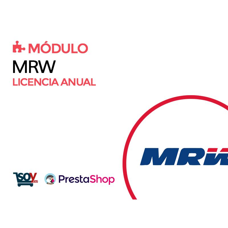 Licencia anual Módulo MRW