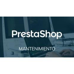 Mantenimiento tienda PrestaShop