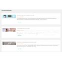 Módulo Artículos de WordPress