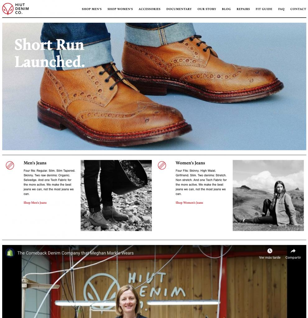 Hiut Denim: una tienda con mucho storytelling
