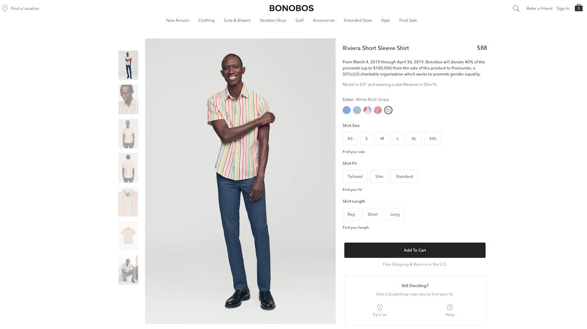 Bonobos Retail